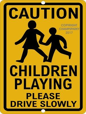 """Please Drive Slowly We Love Our Children Sign 18/"""" x 24/"""" High Intensity Prismatic"""