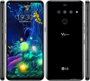 "LG V50 THINQ  5G LM-V500EM 6/128GB 6,4"" BLACK-SingleScreen- EUROPA .GAR 24 MESI"