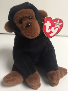 f21cb980fbb Image is loading TY-Congo-Beanie-Babies-Retired-From-Collection-Errors