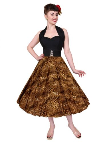 Vivien cerchio Of Rockabilly anni 1950 Gonna Leopard up Pin Holloway TPxOqTIF