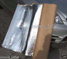 "Automotive sound and heat deadening insulation mat, 88""x39"", 24 Square Feet"