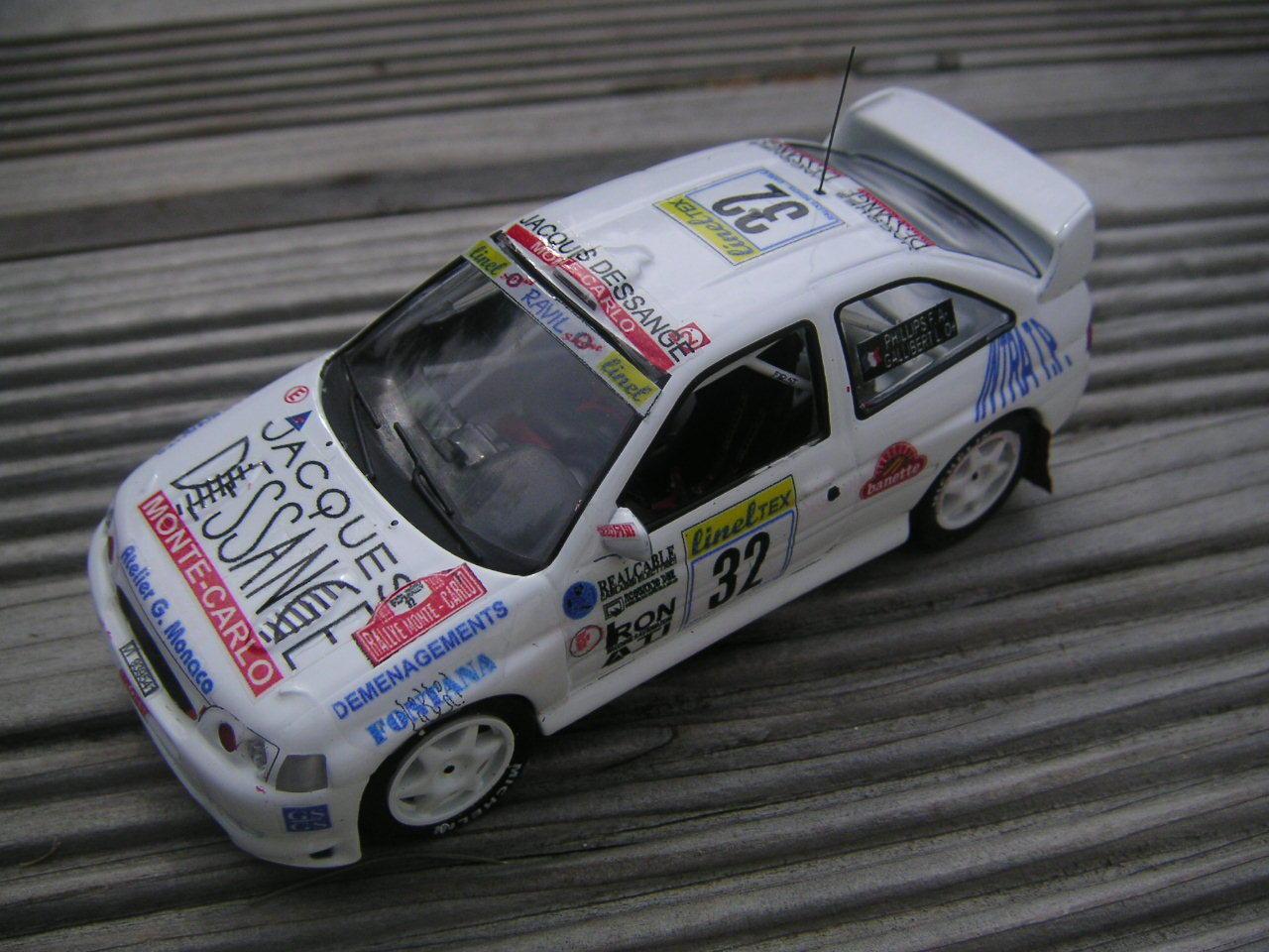 1 43 FORD ESCORT WRC N°32 RALLY WRC WRC WRC MONTE CARLO 1999 MONTE CARLO 6906af
