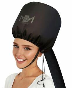 NEW-UPGRADED-Portable-Soft-Hooded-Bonnet-Hair-Dryer-NEW