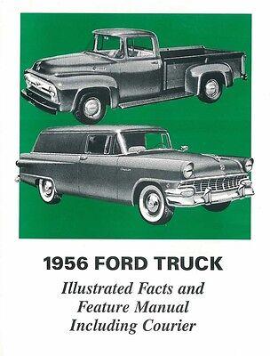 research.unir.net 1957-1958 F100-F350 FORD TRUCK FACTS MANUAL Car ...