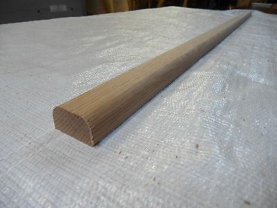 Oak hardwood planed bench slats / battens 1.22m x 30mm x 20mm lath