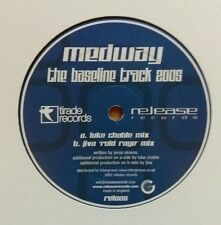 """Medway """"The Bassline Track 2005"""" * REL025 / Luke Chable + Jiva 'Roid Rage' Mixes"""