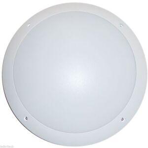 LED-Wall-Light-12-Watt-Round-Style-IP65-Outdoor-White-Bulkhead