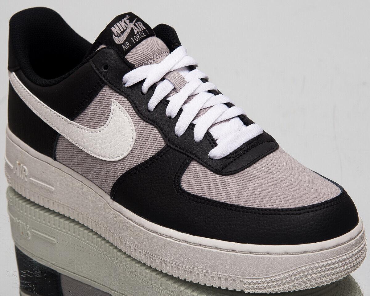 Nike Air Force 0.3m07 1 Herren Schwarz Freizeit Lifestyle Turnschuhe CI0056-001
