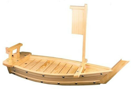 Large Natural Bamboo Sushi bateau 32 in (environ 81.28 cm) 81 cm