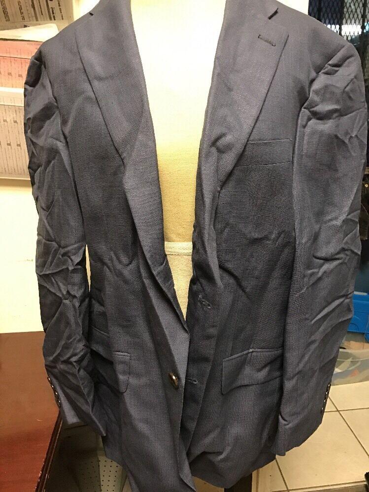 Men's Hart Schaffner Marx bluee Blazer Size 44 r