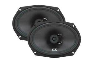 """CT Sounds Bio Car Audio 6x9 Inch Speakers 2-Way Coaxial Door Coax 6x9"""" (Pair)"""