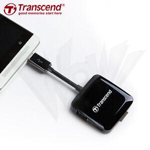 Transcend-RDP9K-OTG-micro-USB-USB-micro-SDHC-XC-SDHC-XC-Smart-Card-Reader-USB2-0