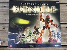 Lego 2001 Bionicle Quest For Makuta Adventure Board Game
