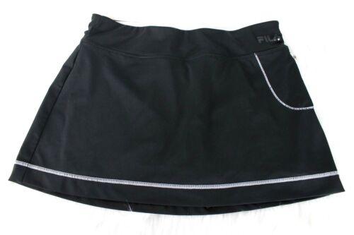 Fila Sport Tennis Skirt size M Black Shorts Undern
