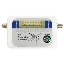 DVB-T Finder Digital Aerial Terrestrial TV Antenna Signal Strength Meter Compass