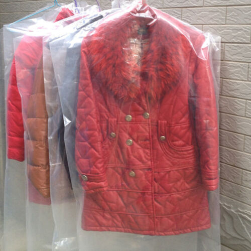 5Pcs Clear Dust-proof Clothes Cover Suit Dress Garment Bag Storage Protector New