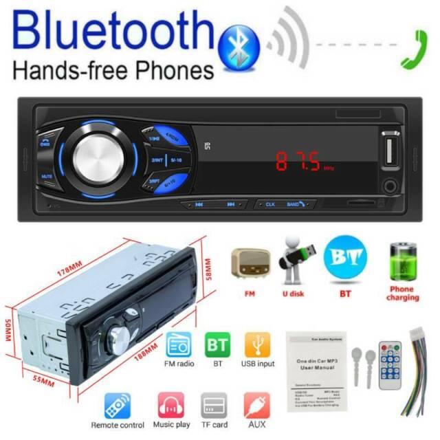 Innenausstattung Sonstige Bluetooth 4.0 Single DIN Car Stereo MP4 ...