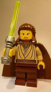 LEGO-Star-Wars-Qui-Gon-Jinn-Umhang-Laserschwert-7161-7204-7101-7