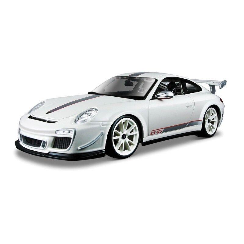 BBURAGO 1 18 PORSCHE 911 GT3 RS 4.0 Coleccionable De Metal Acero Modelo SUPERCAR