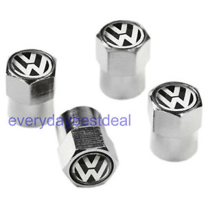 ~ PUNISHER VALVE CAPS SET of 4 *New /& Unique* Tire Metal Valve Nuts Tyre Cap