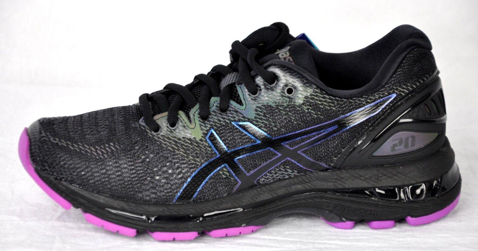 Asics Mens Gel Nimbus 20 Lite-Show Running shoes 1012A037 Black Size 8