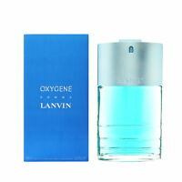 Lanvin Oxygene Homme Eau de Toilette  Natural Spray 100ml 3.4 OZ for Him