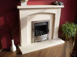 Orbe Solid Natural Portuguese Limestone Fireplace Ebay