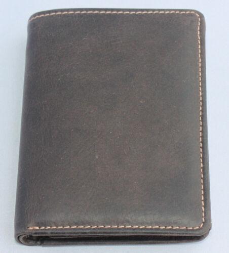 Geldbörse Naturleder Brieftasche Geldbeutel Rindleder Robust Portmonai