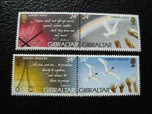 Gibraltar-Briefmarke-Yvert-Tellier-N-719-A-722-N-MNH-A44