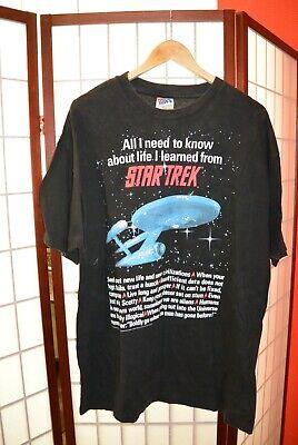 Star Trek 1994 Star Nave Retrò Vintage T Shirt Xl (#84)- Sconti Prezzo
