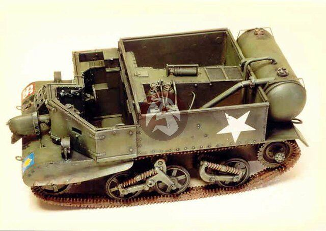 Resicast 1 35 Wasp Mk.IIC Flame Carrier (Late) Conversion (for Tamiya) 351220