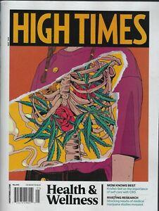 High Times Magazine May 2021  Health & Wellness