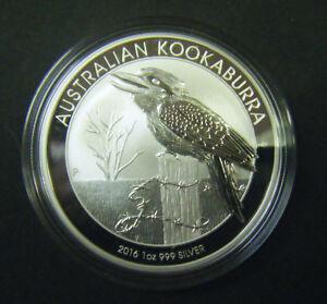 2016 Australian Kookaburra 1 1 Oz Silver Bullion Coin
