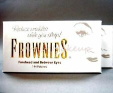 ORIGINAL FROWNIES - FOREHEAD AND BETWEEN EYES FACIAL PATCHES 144CT 2 BOXES