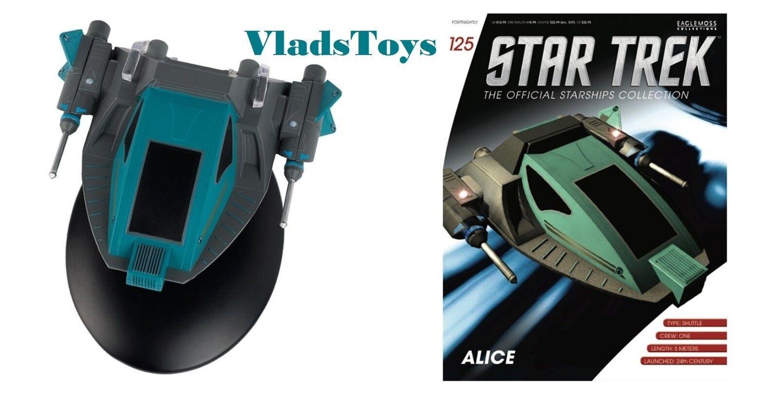 Alice Shuttlecraft Eaglemoss Star Trek Voyager Issue w Magazine