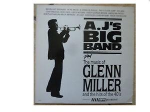 A-J-039-S-BIG-BAND-PLAY-THE-MUSIC-OF-GLENN-MILLER-VINYL-LP-TS003-PLAYS-GREAT