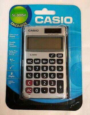 Casio fx-300ES Plus Scientific Calculator BUNDLE with SL-300SV Bonus Pack Solar