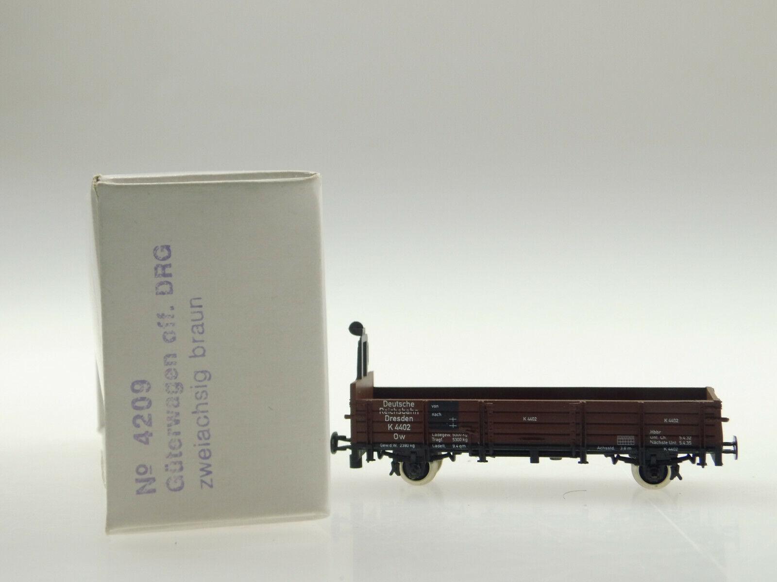 Technomodell H0e 4209 offener Güterwagen DRG OVP
