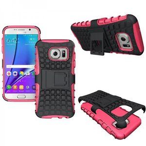 Carcasa-Hibrida-2-piezas-Exterior-Fucsia-Funda-para-Samsung-Galaxy-S7-G930-G930F