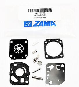 C1U-K54A Carburetor Repair Kit Replaces Zama RB 71 C1U-K54 C1U-K81   13638