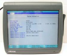Micros Workstation Pcws2015 Pos System I5 E520 240ghz 4gb 423695 310e No Hdd