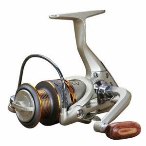 YUMOSHI Spinning Reels 12+1 Freshwater or Saltwater Lure Fishing Reel 5.5:1