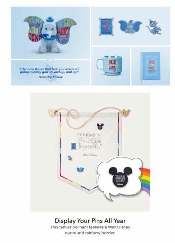 Disney Sagesse Dumbo Toile Fanion Trading Broche January Tasse