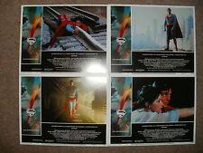 """""""SUPERMAN THE FILM"""" - Completo Set di 8 Hall Carte - NUOVO E SIGILLATO"""