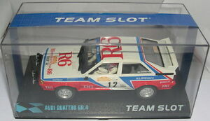 """Responsible Team Slot 12204 Audi Quattro A1 Gr Remo '82"""" #12 M.cinotto-e.radaelli Mb Careful Calculation And Strict Budgeting 4 """"st"""