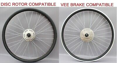 "26/"" Mountain Bike MTB Bike REAR Wheel 10 Speed 11-36T SR Cassette cog FITTED"