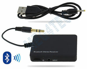 music stereo bluetooth v2 1 edr receiver adapter rca cable 3 5mm audio jack ebay. Black Bedroom Furniture Sets. Home Design Ideas