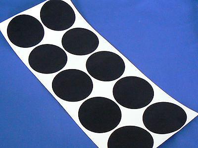 10x77mm 78mm FELT CIRCLES adhesive sticky back felt flock baize backing circles