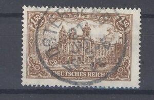 Dt-Reich-Mi-Nr-114c-1-5-Mark-Freimarken-1920-gestempelt-geprueft-Infla-31682