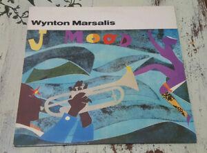 EX-Wynton-Marsalis-J-Mood-1986-Columbia-C-40308-Vinyl-LP
